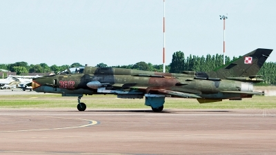 Photo ID 243528 by Aldo Bidini. Poland Air Force Sukhoi Su 22M4 Fitter K, 3612