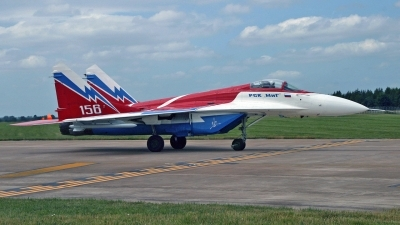 Photo ID 243548 by Peter Fothergill. Company Owned RSK MiG Mikoyan Gurevich MiG 29OVT, 156 WHITE