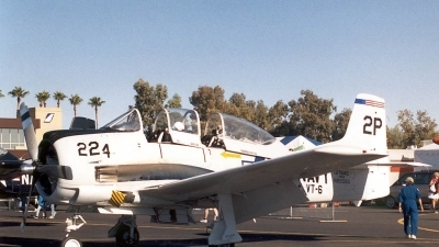 Photo ID 3119 by Ted Miley. Private Private North American T 28B Trojan, N2206G