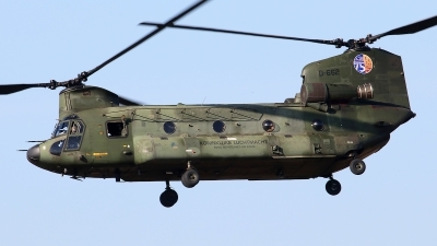 Photo ID 243635 by Mark Broekhans. Netherlands Air Force Boeing Vertol CH 47D Chinook, D 662