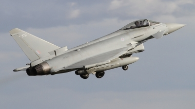 Photo ID 243698 by Paul Newbold. UK Air Force Eurofighter Typhoon FGR4, ZK372