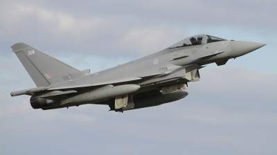Photo ID 243700 by Paul Newbold. UK Air Force Eurofighter Typhoon FGR4, ZK358