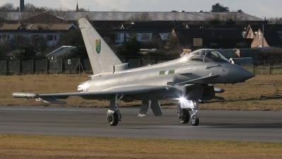 Photo ID 312 by John Higgins. UK Air Force Eurofighter EF 2000 Typhoon F2, ZJ918