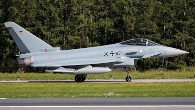 Photo ID 243708 by Rainer Mueller. Germany Air Force Eurofighter EF 2000 Typhoon S, 30 87