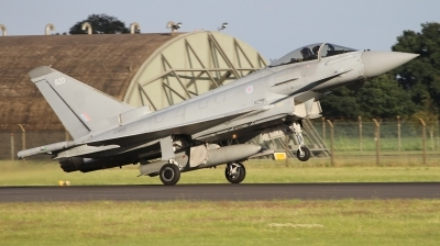 Photo ID 243720 by Paul Newbold. UK Air Force Eurofighter Typhoon FGR4, ZJ920