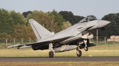 Photo ID 243721 by Paul Newbold. UK Air Force Eurofighter Typhoon FGR4, ZK348