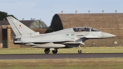 Photo ID 243722 by Paul Newbold. UK Air Force Eurofighter Typhoon T3, ZK383