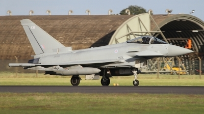 Photo ID 243723 by Paul Newbold. UK Air Force Eurofighter Typhoon FGR4, ZK438