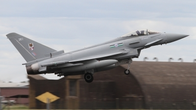 Photo ID 243718 by Paul Newbold. UK Air Force Eurofighter Typhoon FGR4, ZK361