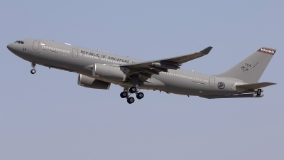 Photo ID 243761 by F. Javier Sánchez Gómez. Singapore Air Force Airbus A330 243MRTT, 764