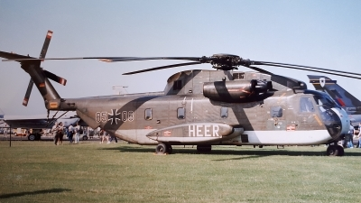 Photo ID 243811 by Paul Newbold. Germany Air Force Sikorsky CH 53G S 65, 85 08