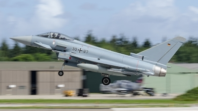 Photo ID 243838 by Caspar Smit. Germany Air Force Eurofighter EF 2000 Typhoon S, 30 87