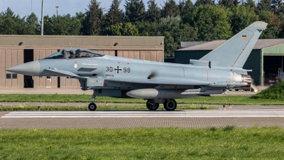 Photo ID 243952 by Jan Eenling. Germany Air Force Eurofighter EF 2000 Typhoon S, 30 98