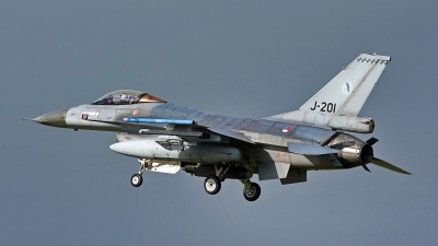 Photo ID 243945 by Dieter Linemann. Netherlands Air Force General Dynamics F 16AM Fighting Falcon, J 201