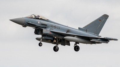 Photo ID 243972 by Jan Eenling. Germany Air Force Eurofighter EF 2000 Typhoon S, 30 33
