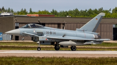 Photo ID 243974 by Jan Eenling. Germany Air Force Eurofighter EF 2000 Typhoon S, 30 30