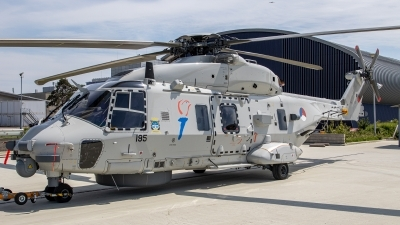 Photo ID 243997 by Jan Eenling. Netherlands Navy NHI NH 90NFH, N 195