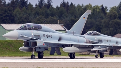 Photo ID 243986 by Patrick Weis. Germany Air Force Eurofighter EF 2000 Typhoon T, 30 02