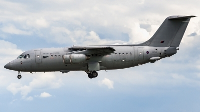 Photo ID 244046 by Matteo Buono. UK Air Force British Aerospace BAe 146 C3 BAe 146 200QC, ZE708