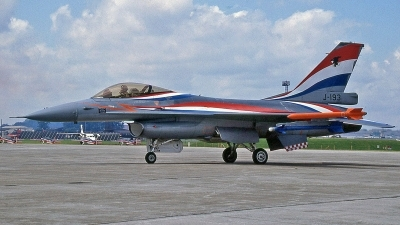 Photo ID 244048 by Peter Fothergill. Netherlands Air Force General Dynamics F 16A Fighting Falcon, J 193