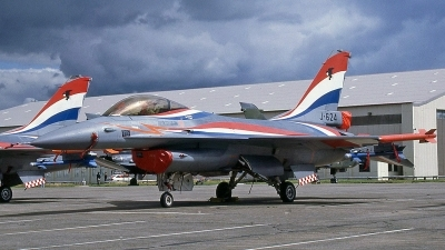 Photo ID 244049 by Peter Fothergill. Netherlands Air Force General Dynamics F 16A Fighting Falcon, J 624