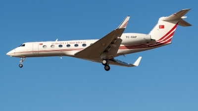 Photo ID 244107 by Ray Biagio Pace. Turkey Government Gulfstream Aerospace G 550 G V SP, TC DAP
