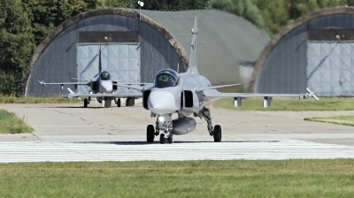 Photo ID 244529 by Milos Ruza. Czech Republic Air Force Saab JAS 39C Gripen, 9242