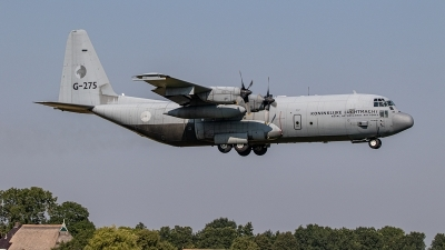 Photo ID 244217 by Jan Eenling. Netherlands Air Force Lockheed C 130H Hercules L 382, G 275