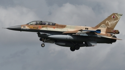 Photo ID 244391 by Hans-Werner Klein. Israel Air Force General Dynamics F 16D Fighting Falcon, 628