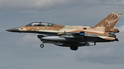 Photo ID 244384 by Hans-Werner Klein. Israel Air Force General Dynamics F 16D Fighting Falcon, 676