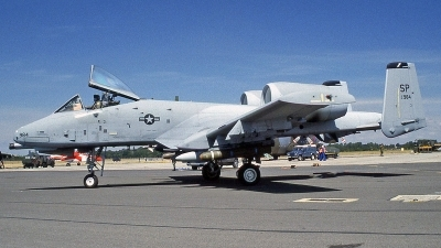 Photo ID 244527 by Peter Fothergill. USA Air Force Fairchild A 10C Thunderbolt II, 81 0984