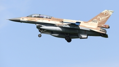 Photo ID 244386 by Peter Boschert. Israel Air Force General Dynamics F 16D Fighting Falcon, 682