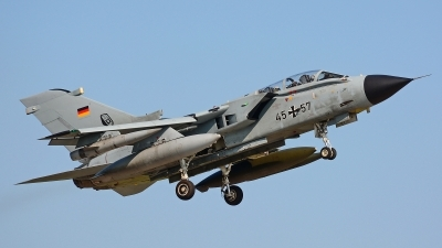 Photo ID 244443 by Dieter Linemann. Germany Air Force Panavia Tornado IDS, 45 57