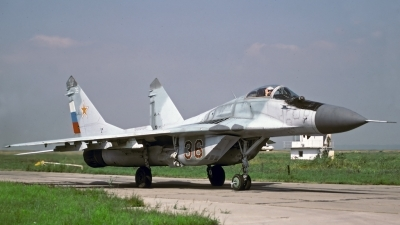 Photo ID 27473 by Sven Zimmermann. Russia Air Force Mikoyan Gurevich MiG 29 9 12, 36 RED