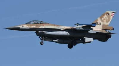 Photo ID 244472 by Hans-Werner Klein. Israel Air Force General Dynamics F 16C Fighting Falcon, 531