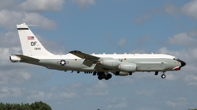 Photo ID 244487 by Neil Dunridge. USA Air Force Boeing RC 135U Combat Sent 739 445B, 64 14849