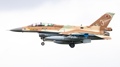 Photo ID 244677 by Jens Wiemann. Israel Air Force General Dynamics F 16D Fighting Falcon, 676