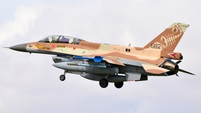 Photo ID 244686 by Frank Deutschland. Israel Air Force General Dynamics F 16D Fighting Falcon, 682
