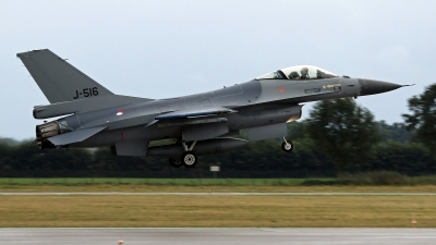 Photo ID 244766 by Richard de Groot. Netherlands Air Force General Dynamics F 16AM Fighting Falcon, J 516