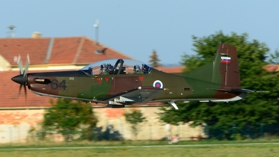 Photo ID 244740 by Stephan Franke - Fighter-Wings. Slovenia Air Force Pilatus PC 9M, L9 64