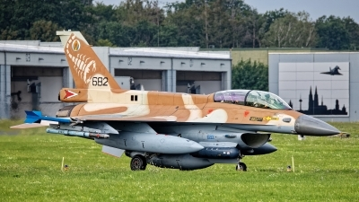 Photo ID 244747 by Rainer Mueller. Israel Air Force General Dynamics F 16D Fighting Falcon, 682