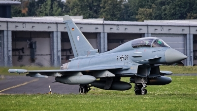 Photo ID 244778 by Rainer Mueller. Germany Air Force Eurofighter EF 2000 Typhoon T, 31 28