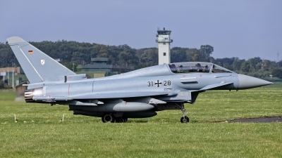 Photo ID 244792 by Rainer Mueller. Germany Air Force Eurofighter EF 2000 Typhoon T, 31 28
