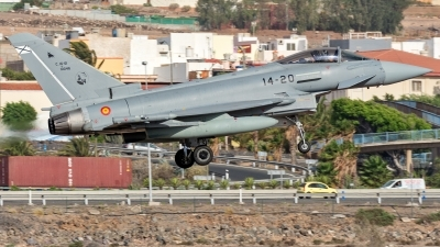 Photo ID 244810 by Adolfo Bento de Urquia. Spain Air Force Eurofighter Typhoon T3, C 16 61 10046
