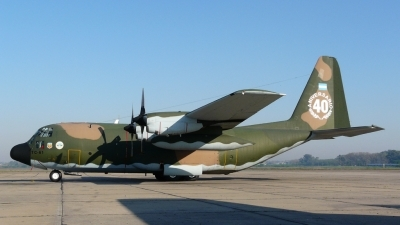 Photo ID 27494 by Martin Kubo. Argentina Air Force Lockheed C 130H Hercules L 382, TC 61