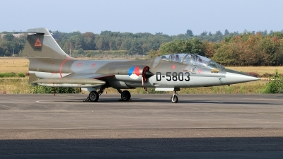 Photo ID 244854 by Mark Broekhans. Netherlands Air Force Lockheed TF 104G Starfighter, D 5803