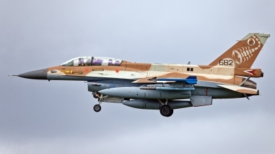 Photo ID 244855 by Rainer Mueller. Israel Air Force General Dynamics F 16D Fighting Falcon, 682