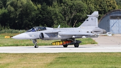 Photo ID 244899 by Milos Ruza. Czech Republic Air Force Saab JAS 39C Gripen, 9237