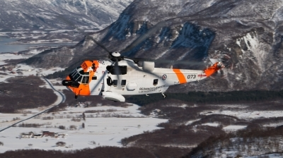 Photo ID 244903 by Neil Dunridge. Norway Air Force Westland Sea King Mk43B, 073