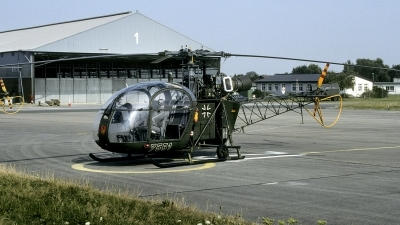 Photo ID 244916 by Joop de Groot. Germany Army Sud Aviation SE 3130 Alouette II, 75 51